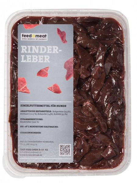 Barf Rinderleber 1kg