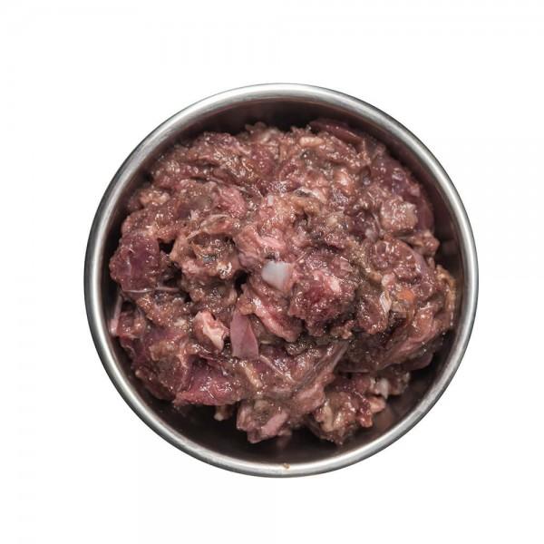 Fischmix mit Rindfleisch