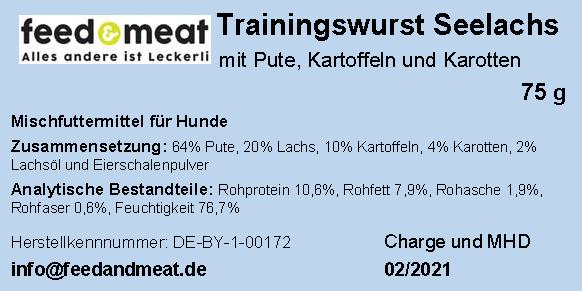 Trainingswurst Seelachs