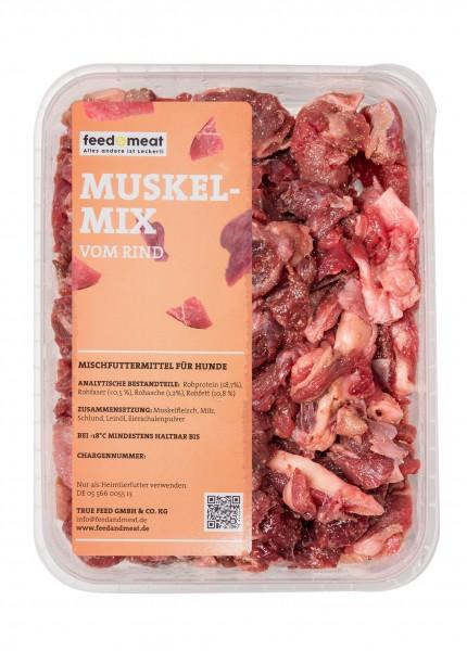 Barf Muskelmix 1kg stückig